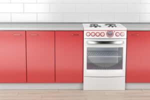 תנור אפיה אדום
